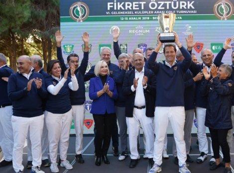 FİKRET ÖZTÜRK GOLF TURNUVASI SONA ERDİ